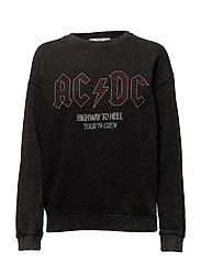 AC/DC sweatshirt - BLACK