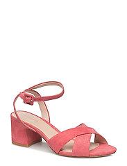 Criss-cross straps sandals - PINK