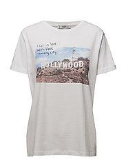 Printed image t-shirt - NATURAL WHITE