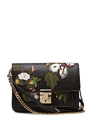 Mango - Floral Embroidery Bag