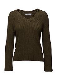 Textured cotton-blend sweater - BEIGE - KHAKI