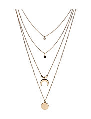 Chain waterfall necklace - GOLD
