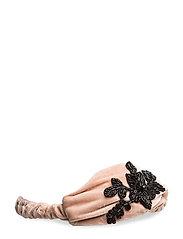 Flower hairband - LT-PASTEL PINK