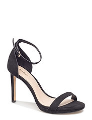Ankle-cuff sandals - BLACK