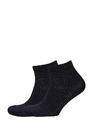 Pack 2 metallic socks - NAVY