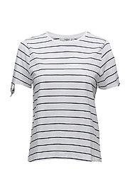 Bows sleeve t-shirt - NAVY