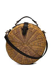Bamboo coffer bag - LIGHT BEIGE