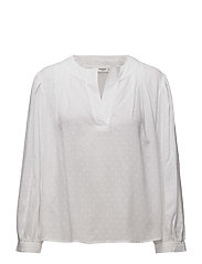 Plumeti blouse - WHITE