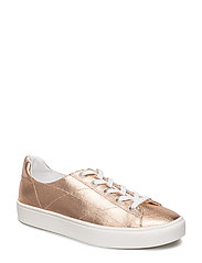 Metallic effect sneakers - RUST - COPPER