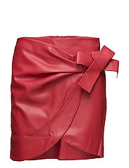 Bow wrap skirt - RED