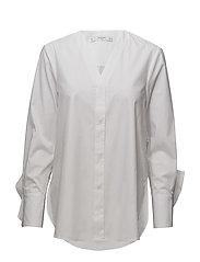 Poplin shirt - NATURAL WHITE