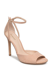 Ankle-cuff sandals - LT-PASTEL PINK