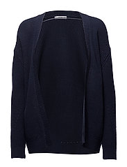 Chunky knit cardigan - NAVY