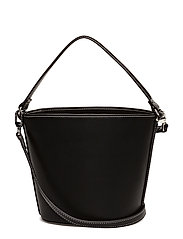 Bucket cross-body bag - BLACK