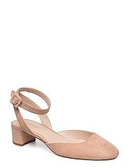 Mango - Ankle-Cuff Slingback Shoes