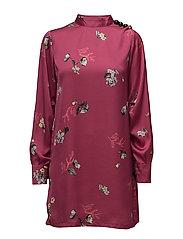 Floral print dress - PINK