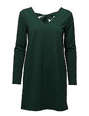 Flowy bow dress - GREEN