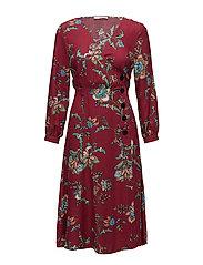 Mango - Floral Wrap Dress