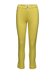 Slim-fit stretch trousers - BRIGHT YELLOW