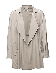 Soft finish jacket - NATURAL WHITE
