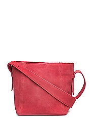 Leather cross body bag - PINK