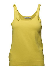 Bow strap top - YELLOW
