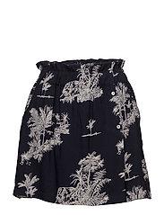Printed shorts - NAVY