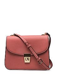 Pebbled cross-body bag - PINK