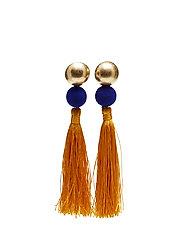 Tassel earrings - MEDIUM YELLOW
