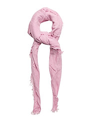 Frayed edge scarf - PINK