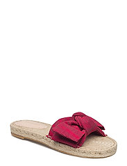 Knot flat sandal - RED