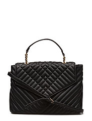 Quilted chain bag - BLACK