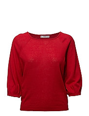 Ramie sweater - RED
