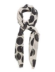 Spots print scarf - LIGHT BEIGE