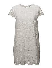 Open-work dress - NATURAL WHITE