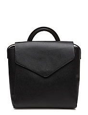 Front lapel backpack - BLACK