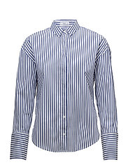 Pearls cotton shirt - MEDIUM BLUE