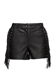 Stud flowy short - BLACK
