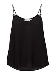 Spaghetti strap top - BLACK