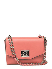 Chain cross body bag - BRIGHT RED