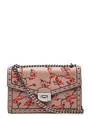 Studded embroidered bag - LT-PASTEL PINK