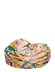 Turban headband - YELLOW