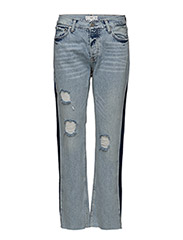 Sayana organic cotton straight jeans - OPEN BLUE