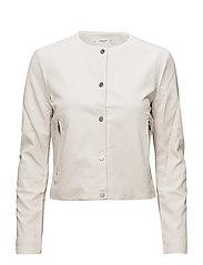 Buttoned jacket - LIGHT BEIGE