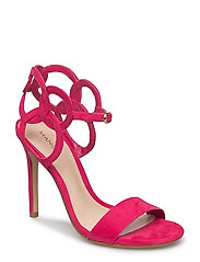 Laser-cut design sandals - MEDIUM PINK