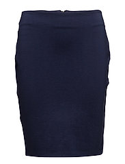 Fitted skirt - NAVY