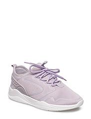 Appliqu lightweight sole sneakers - MEDIUM PURPLE
