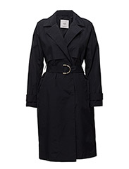Classic belted trench - NAVY
