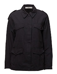 Pocketed jacket - NAVY