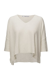 Ramie sweater - LIGHT BEIGE